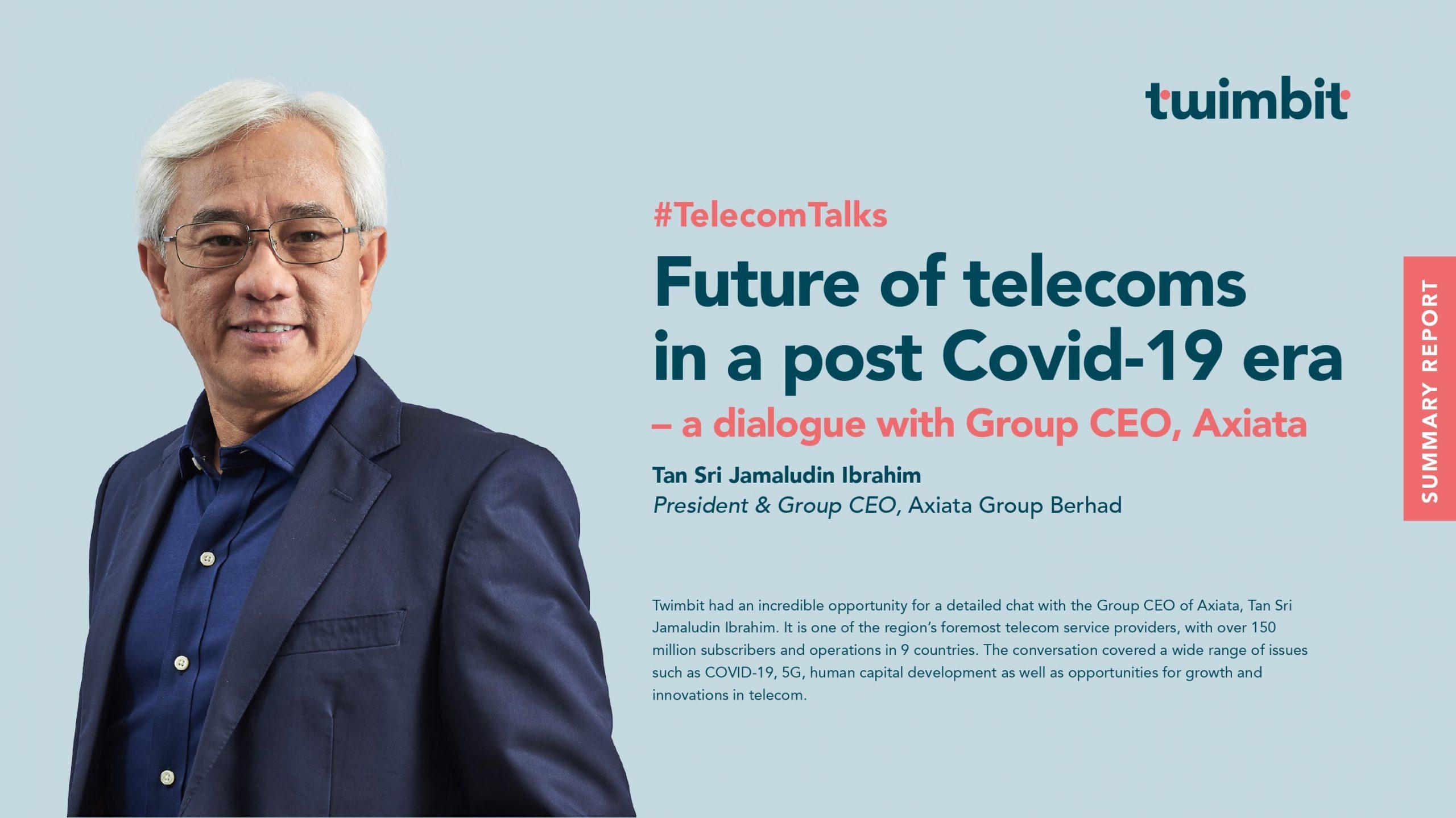 impact of covid on telecoms, axiata, 5g, asia, career